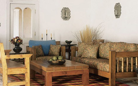 Southwest Spanish Craftsmen - Living Room