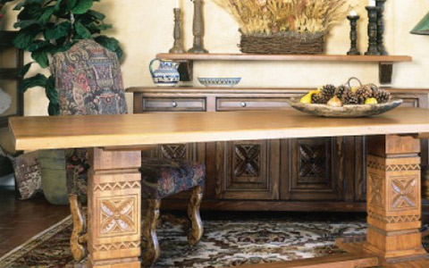 Southwest Spanish Craftsmen - Office